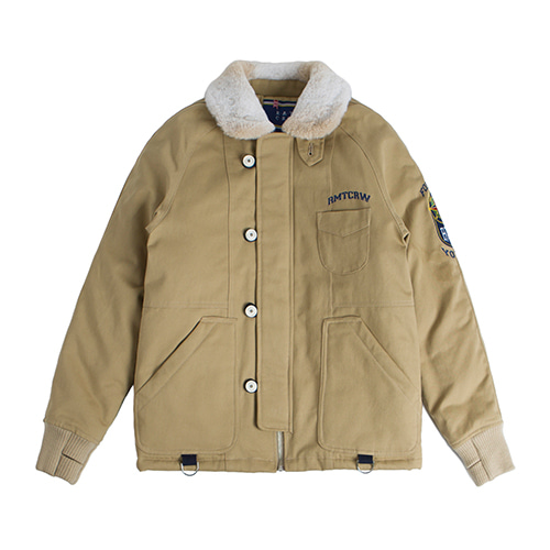 Forever Young 6oz Deck Jacket_Beige