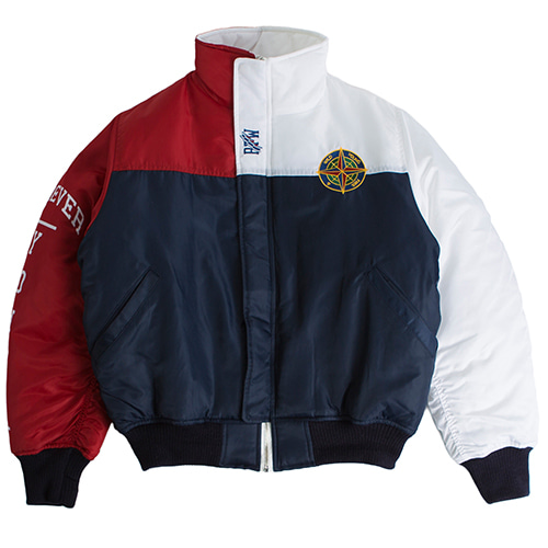FY 6oz Old School Jacket_Navy