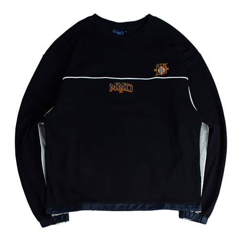 MMD Piping Sweatshirts_Navy