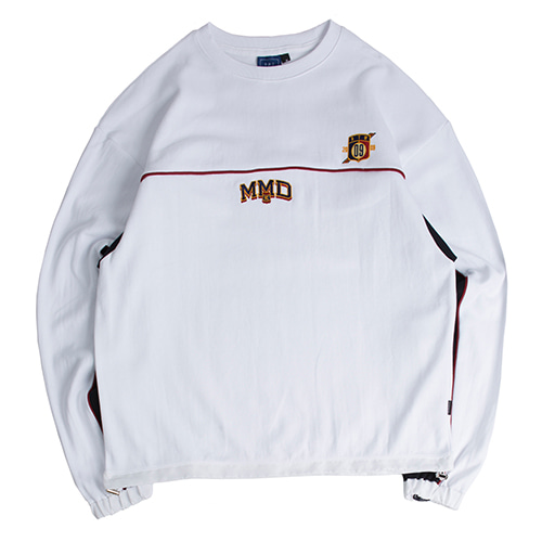 MMD Piping Sweatshirts_White