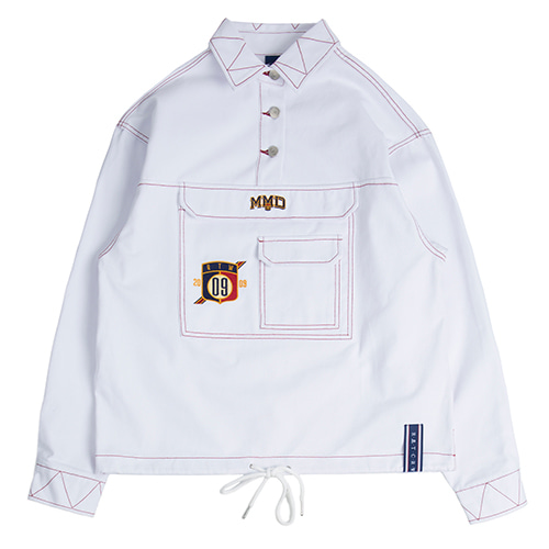 MMD Cotton Anorak_White