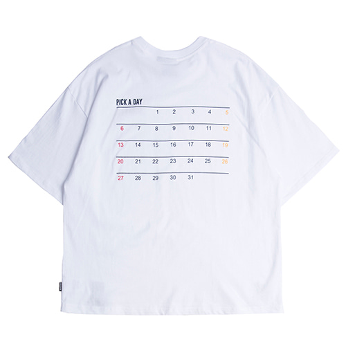 Scheduler T_Shirt_White