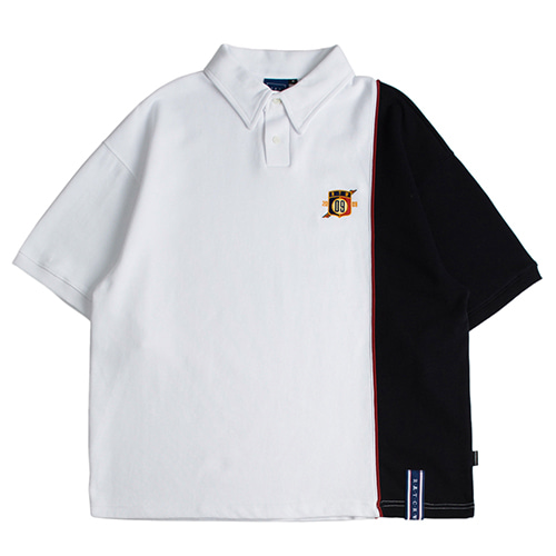 Piping Polo Shirts_White