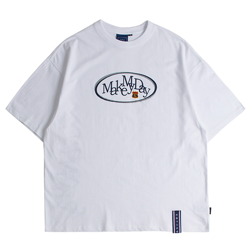 Circle Logo T Shirts_White