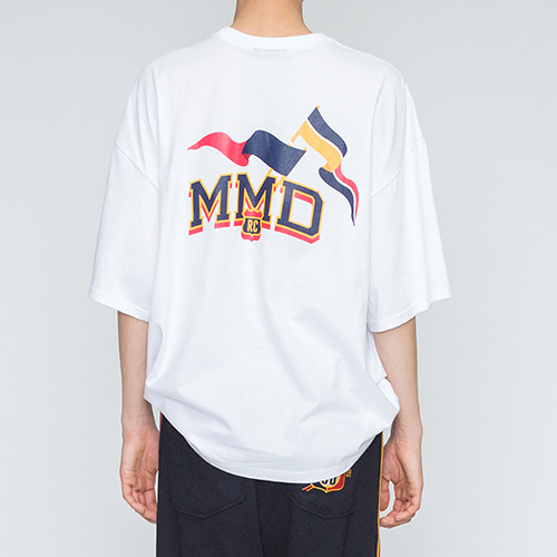 MMD Flag T Shirts_White
