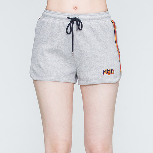 Band Line Shorts_Grey
