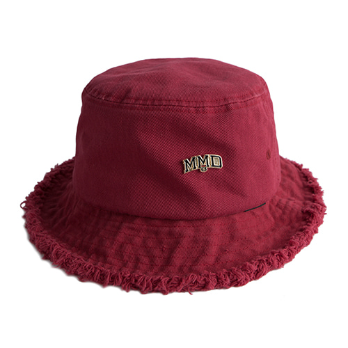 MMD Bucket Hat_Burgundy