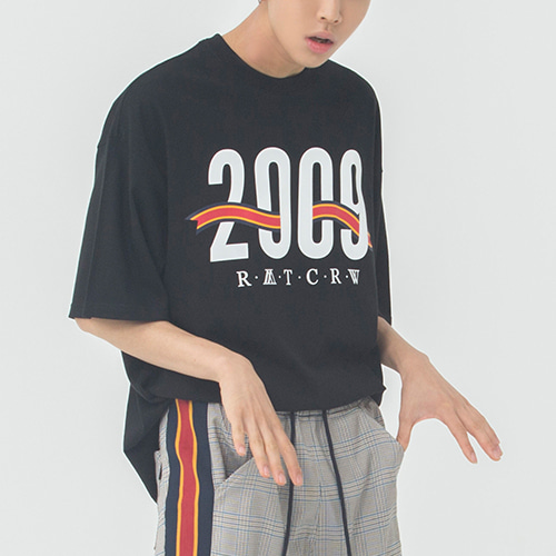 2009 Flag T Shirt_Black