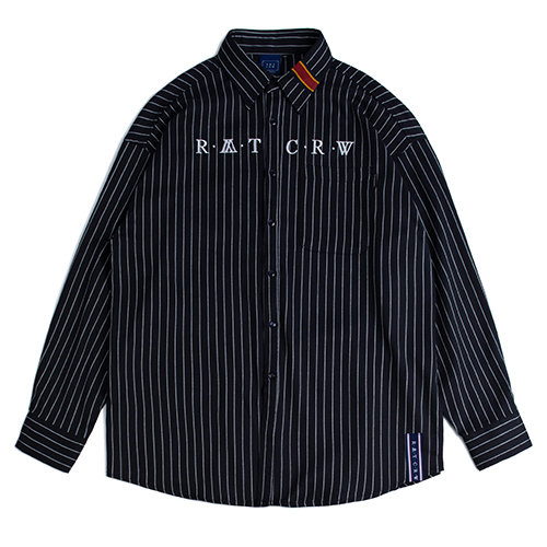 Pin Stripe Shirt_Navy