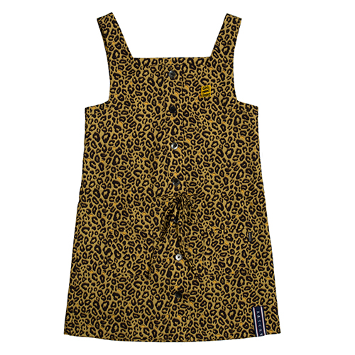GNAC Leopard Dress_Brown