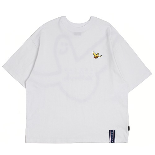 [R.C X M.G]Flag GONZ T Shirt_White
