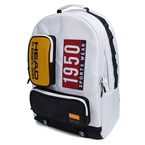 HEAD BY RMTC 1950 Backpack_White
