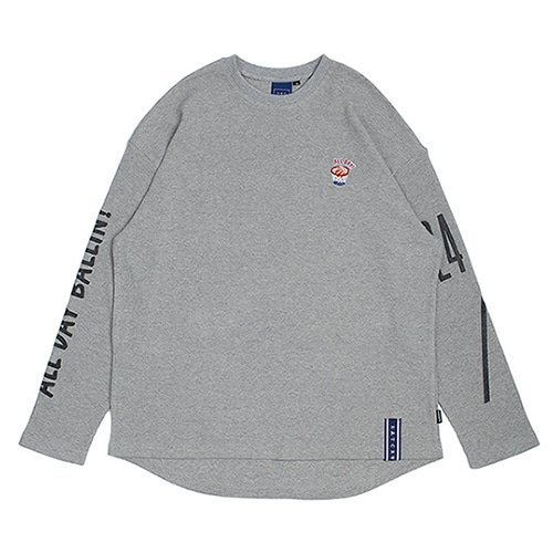 10th All Day Long Sleeve_Grey