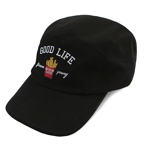 10th Good Life Camp Cap_Black