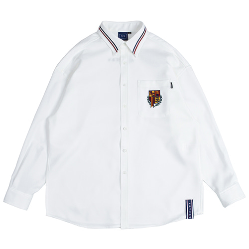 RMTCRW Collar Piping Shirt_White