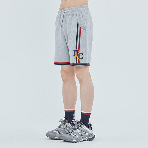 RC Double Line Half Pants_Grey