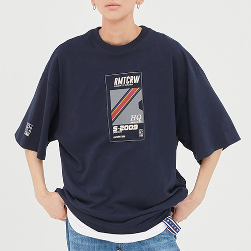 RMTC Video Case T Shirt_Navy