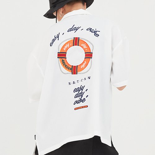 Life Belt Souvenir Shirts_White