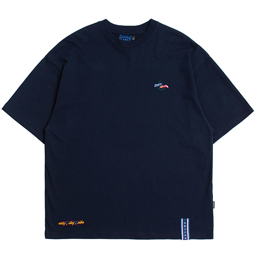 E.D.V Post Man T Shirt_Navy