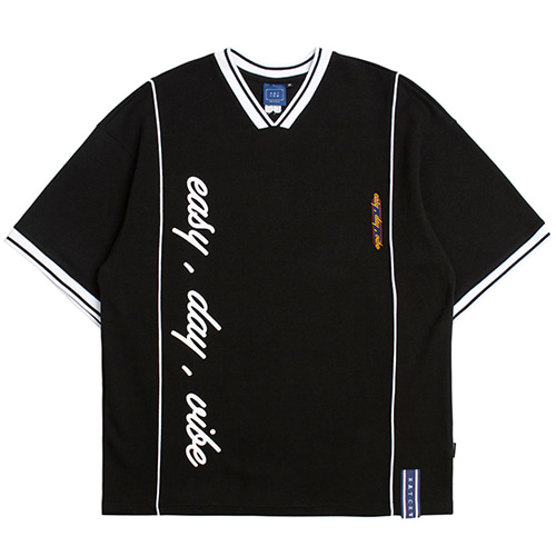 Easy Day Vibe Jersey_Black