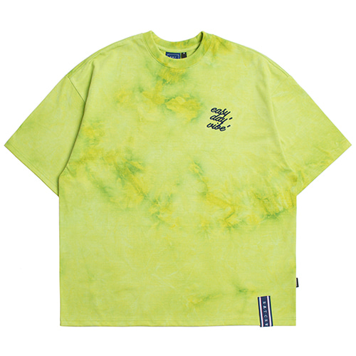 E.D.V WASHING T SHIRT_GREEN