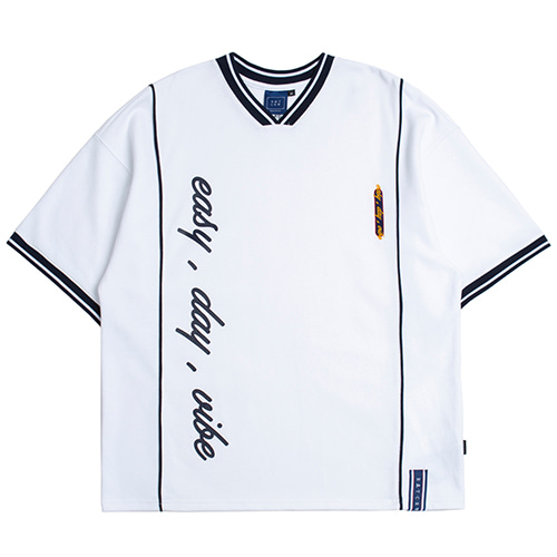 Easy Day Vibe Jersey_White