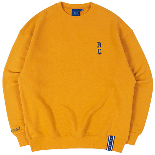 RC LOGO SWEATSHIRT_YELLOW