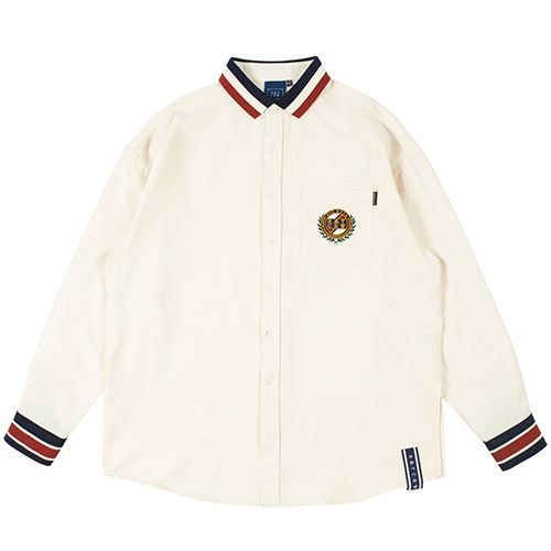 21C BOYS COLLAR SHIRT_OATMEAL
