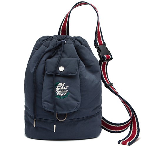 21C BOYS SLING BAG_NAVY