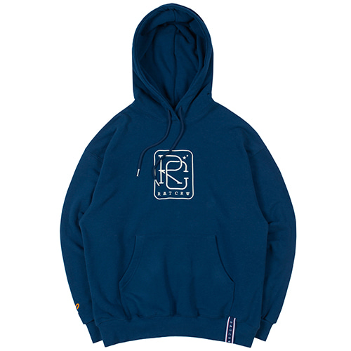 RC BIG LOGO HOOD_BLUE