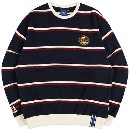 21C BOYS STRIPED SWEATSHIRT_NAVY