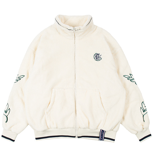 [9/16 예약배송]YETI ZIP UP JACKET_OATMEAL