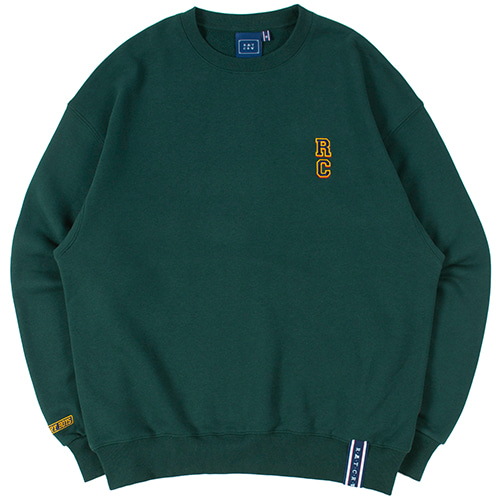 RC LOGO SWEATSHIRT_GREEN