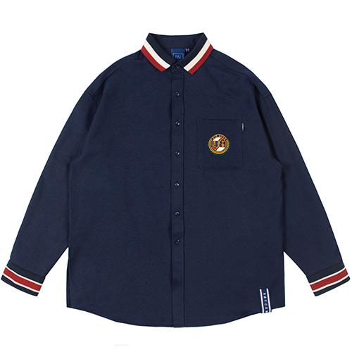 21C BOYS COLLAR SHIRT_NAVY