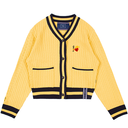 UNLOCK YOUR MIND CARDIGAN_BUTTER