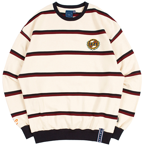 21C BOYS STRIPED SWEATSHIRT_OATMEAL