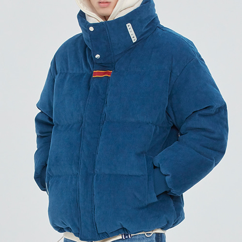 INUIT CORDUROY DOWN PARKA_BLUE