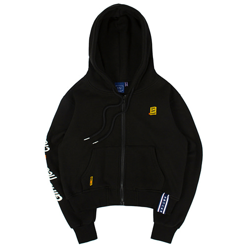 [9/16 예약배송]GNAC HOOD ZIP UP_BLACK