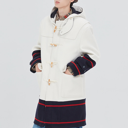 SIGNATURE DUFFEL COAT_OATMEAL