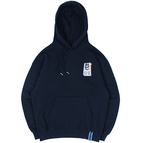21C BOYS FLAG HOOD_NAVY