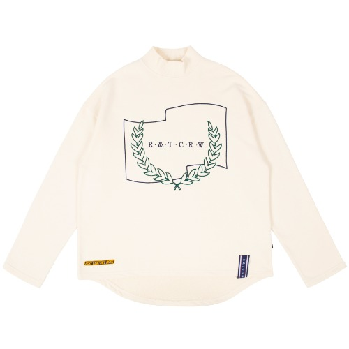 LAUREL CROWN TURTLENECK_OATMEAL