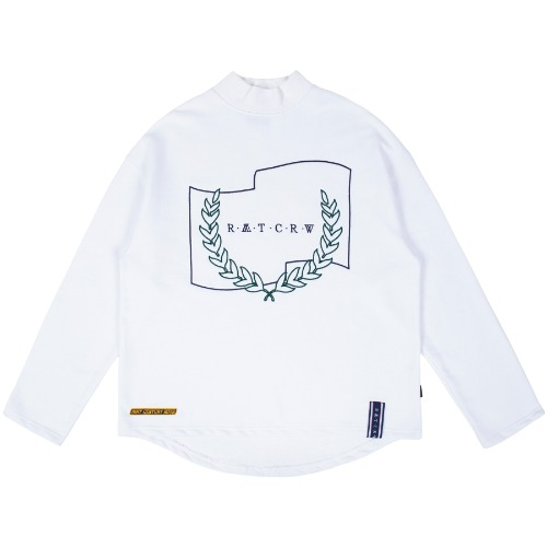LAUREL CROWN TURTLENECK_WHITE