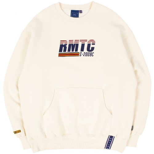 RMTC LOGO POCKET SWEATSHIRT_OATMEAL