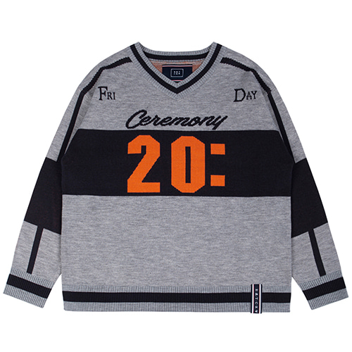 SCOREBOARD KNIT_GREY