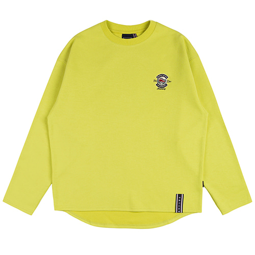 PERFECT GAME LONG SLEEVE_YELLOW GREEN