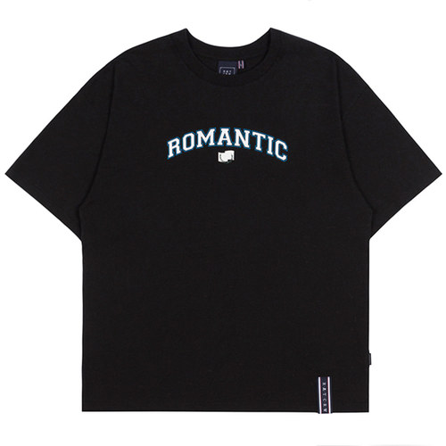 ROMANTIC ARCH LOGO TEE_BLACK