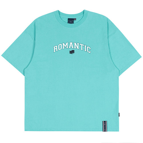 ROMANTIC ARCH LOGO TEE_MINT