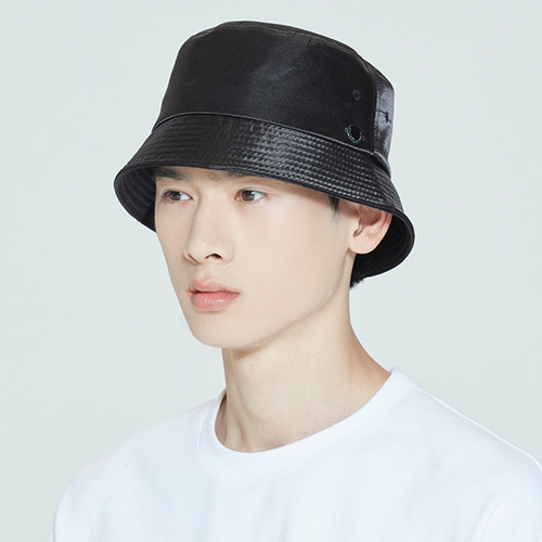 LAUREL LOGO BUCKET HAT_BLACK