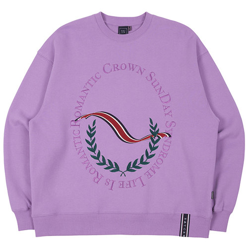 CEREMONY LAUREL SWEATSHIRT_PURPLE