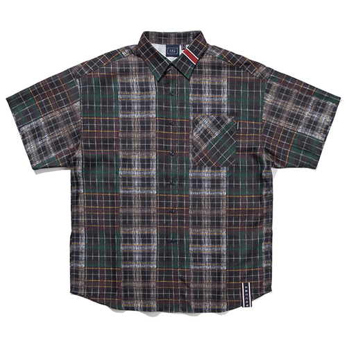 MULTI COLOR CHECK SHIRT_NAVY